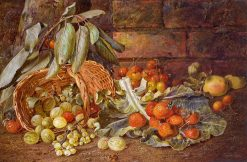 Still Life of Fruits | Vincent Clare | Oil Painting