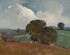 Sketch of East Downe | Benjamin Haughton | Oil Painting