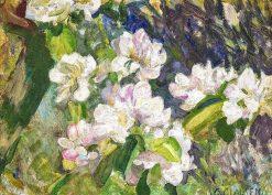 Apple blossom | Sir George Clausen