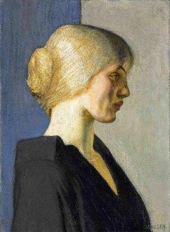 A Dutch Girl | Sir George Clausen