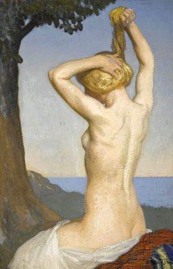 Female nude | Sir George Clausen
