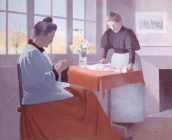 By the Window | Achille Laugé | Oil Painting