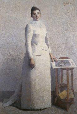Portrait of Madame Astre | Achille Laugé | Oil Painting