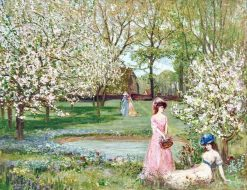 The Howe in Spring | Charles Conder | Oil Painting