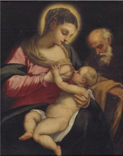 Holy Family | Domenico Tintoretto | Oil Painting