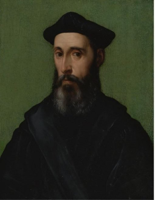Portrait of a Gentleman in Black | Italian School th Century Unknown | Oil Painting