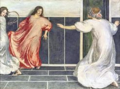 Blind man's buff | Robert Anning Bell | Oil Painting
