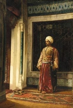The Turkish guard | Stanislaus Poraj Chlebowski | Oil Painting