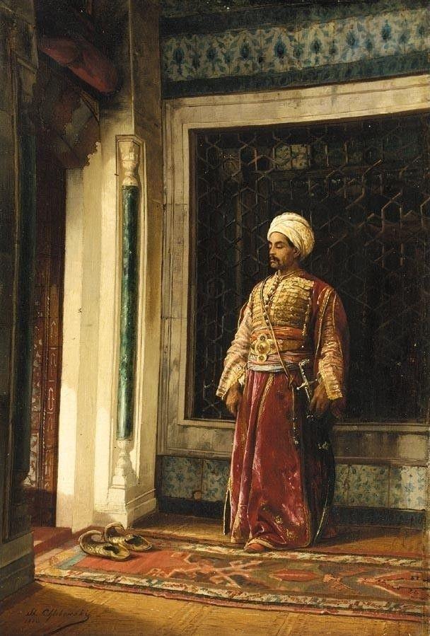 The Turkish guard