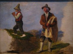 Study of Peasants | Filippo Palizzi | Oil Painting
