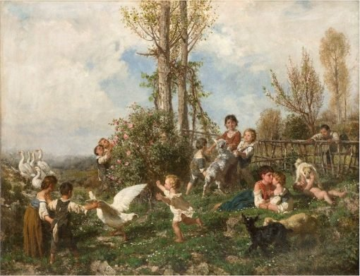 Spring | Filippo Palizzi | Oil Painting