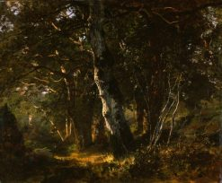 Fontainebleau Forest | Filippo Palizzi | Oil Painting