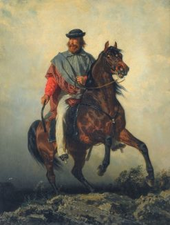 Garibaldi | Filippo Palizzi | Oil Painting