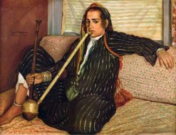 Smoking Hashish | Emile Bernard | Oil Painting