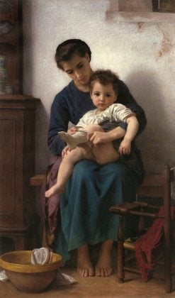 Big Sister (also known as La grande soeur) | William Bouguereau | Oil Painting