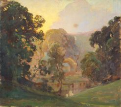 Study for 'Pastoral' | Benjamin Haughton | Oil Painting