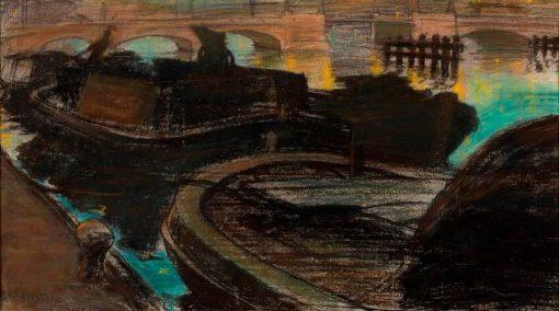 Bridge over the Amstel | Leo Gestel | Oil Painting