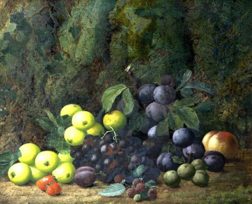 Still Life with Fruit | Oliver Clare | Oil Painting