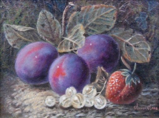Plums | Oliver Clare | Oil Painting