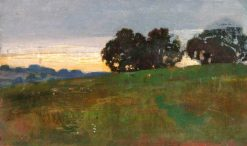 Sunset | Benjamin Haughton | Oil Painting