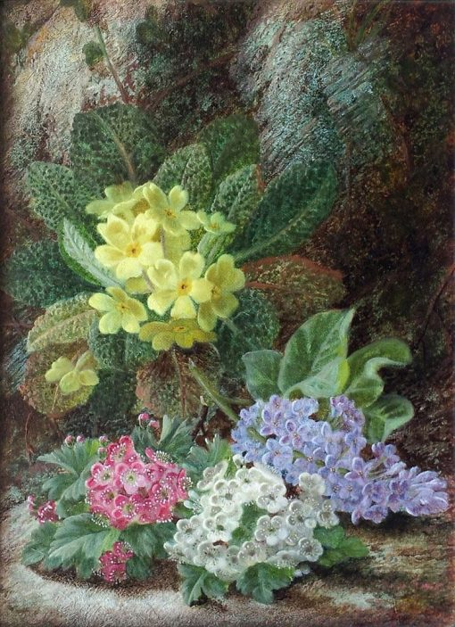 Still Life of Flowers | Oliver Clare | Oil Painting