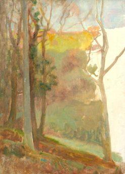 Sunlit Wood | Benjamin Haughton | Oil Painting