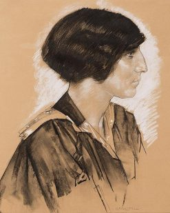 Woman in Profile | Leo Gestel | Oil Painting