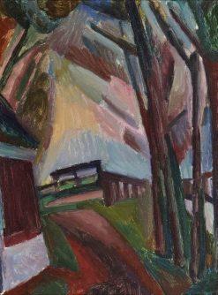 Bergen Landscape | Leo Gestel | Oil Painting