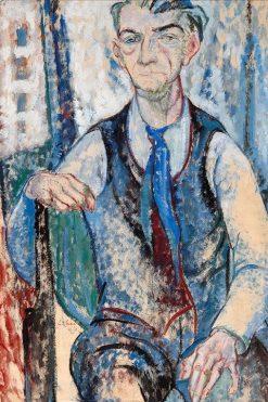 Self Portrait | Leo Gestel | Oil Painting