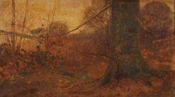 The Beech Bole | Benjamin Haughton | Oil Painting