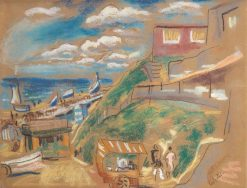 Beach at Zandvoort | Leo Gestel | Oil Painting