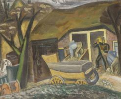 A Farm | Leo Gestel | Oil Painting