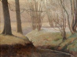 Sunshine and Frost | Benjamin Haughton | Oil Painting