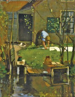 Washing Day | Leo Gestel | Oil Painting