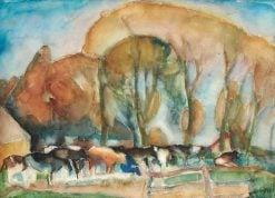 Cattle | Leo Gestel | Oil Painting