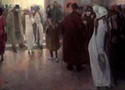 Sortie de L'Opera | Leo Gestel | Oil Painting