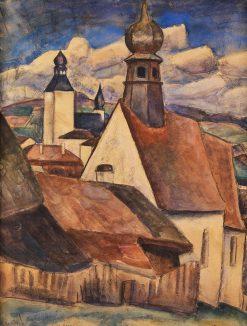 View of Regen | Leo Gestel | Oil Painting