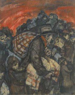 Exodus | Leo Gestel | Oil Painting