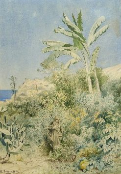 View of Jaffa | Edmund Berninger | Oil Painting