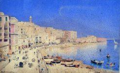 Naples   Edmund Berninger   Oil Painting