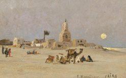 Near Cairo | Edmund Berninger | Oil Painting