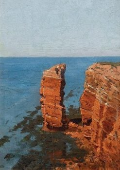 Helgoland | Edmund Berninger | Oil Painting