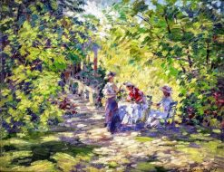 A sun-drenched garden | Constantin Alexeevich Korovin | Oil Painting