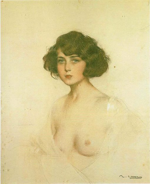 Julia | Ramon Casas y Carbó | Oil Painting