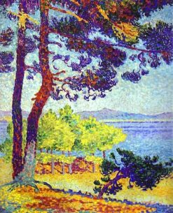 Apre-midi a Pardigon | Henri-Edmond Cross | Oil Painting