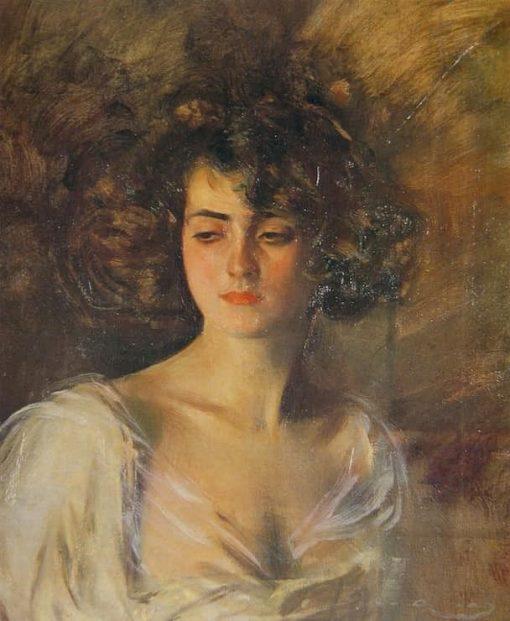 Julia | Ramon Casas y Carbó | Oil Painting