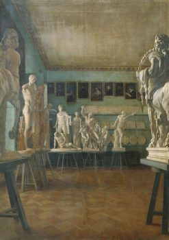 Interior of the Drawing School