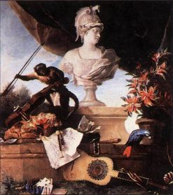 Allegory of Europe | Jean-Baptiste Oudry | Oil Painting