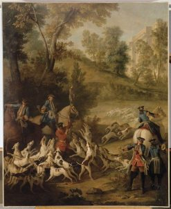 The End of the Hunt | Jean-Baptiste Oudry | Oil Painting