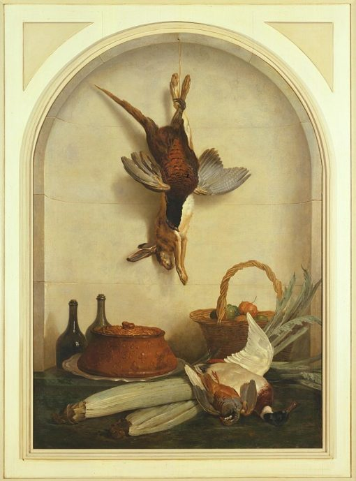 The Pate | Jean-Baptiste Oudry | Oil Painting